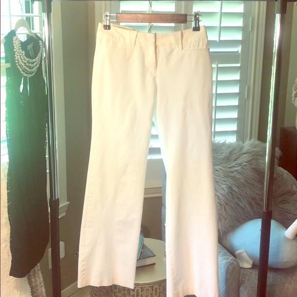Express Pants - Express white slacks size 3/4